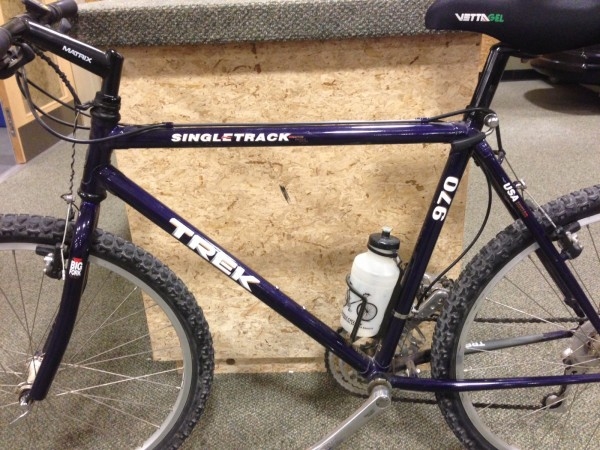New Ride 1992 Trek 970 Singletrack Adam Kuban